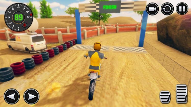 Dirt Bike Rider Stunt Games 3D screenshot-4