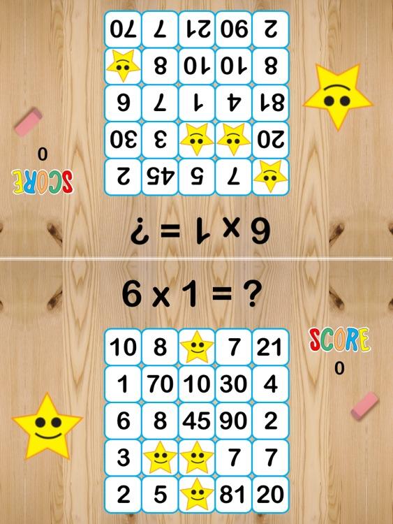 Math Bingo K-3 screenshot-4