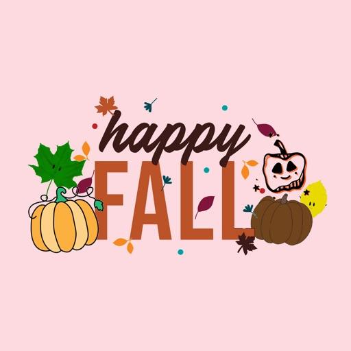 MNSU Happy Fall Stickers