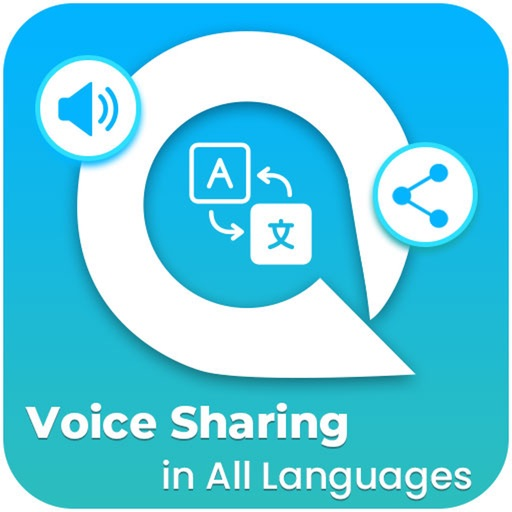 Voice Share in all languages