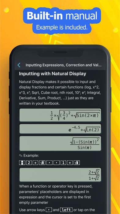 NCalc Taschenrechner PlusScreenshot von 8