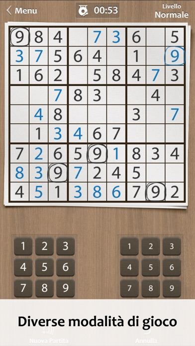 Screenshot of Sudoku ∙3