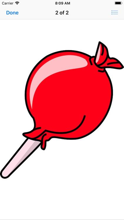 Sweet Lollipop Stickers screenshot-3