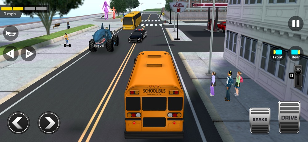 School Bus Simulator Game 3D Cheat Codes