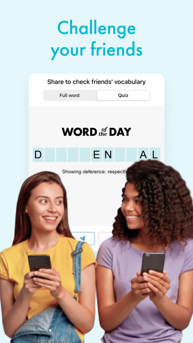 Word of the day: Daily Widget Screenshot