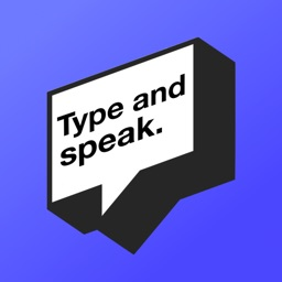 Type and speak: Text-based AAC