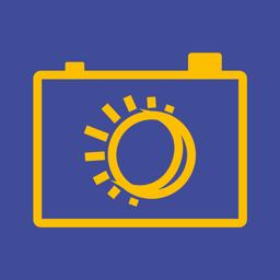 Ícone do app B&G: blue hour, golden hour