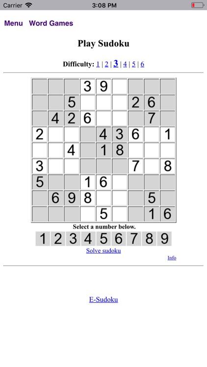 Word Games Passtimes - BA.net screenshot-3
