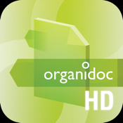 OrganiDoc HD - Your best file manager and PDF viewer for iPad icon