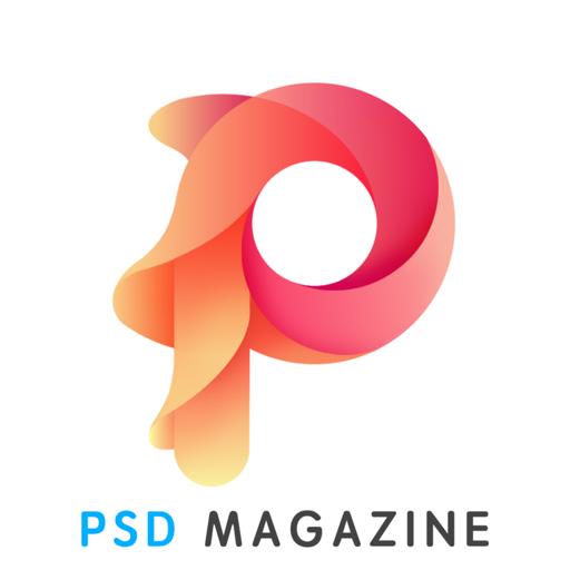Magazine PSD file design