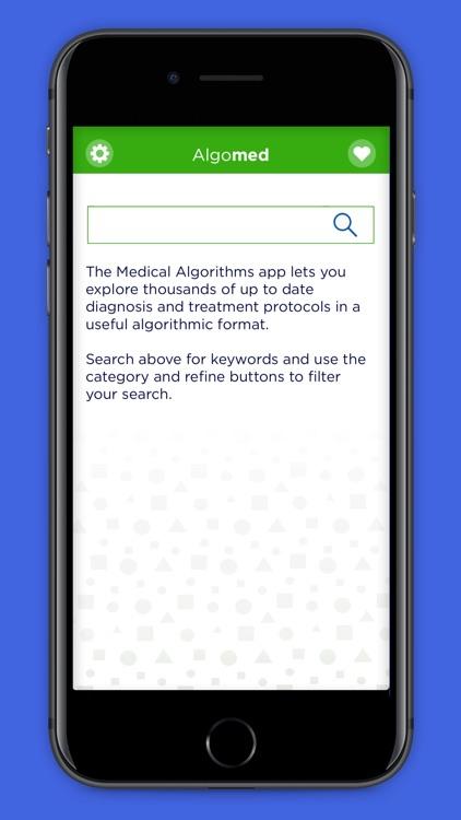 Algomed - Med Algorithms