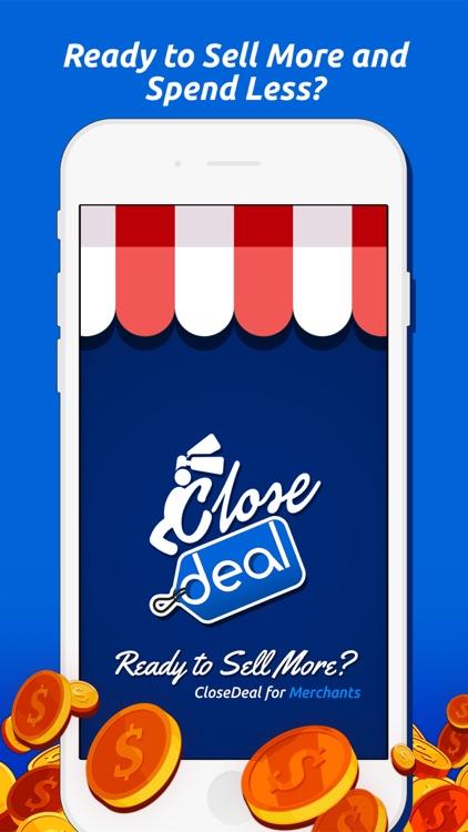 CloseDeal Merchant