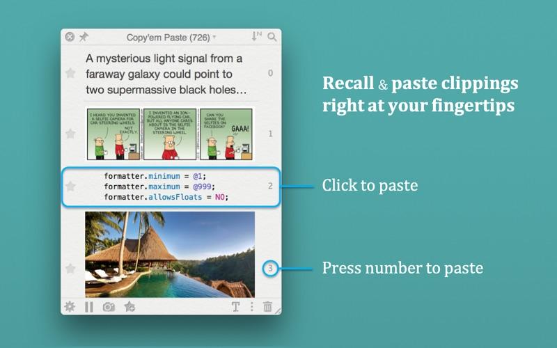 Copy'em Paste (Clipboard Mgr.)
