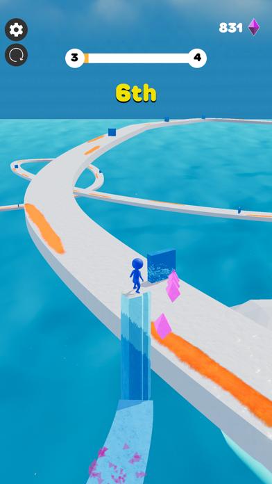 Ice Lava Run screenshot 6