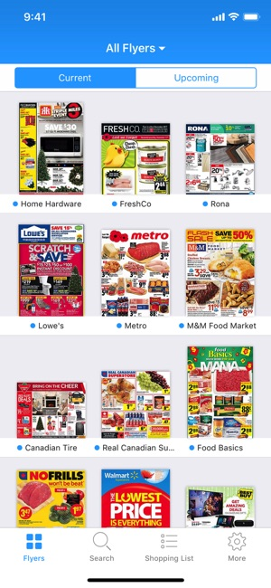 Reebee Flyers Shopping List On The App Store