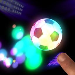 Neon Flick Football - No Ads