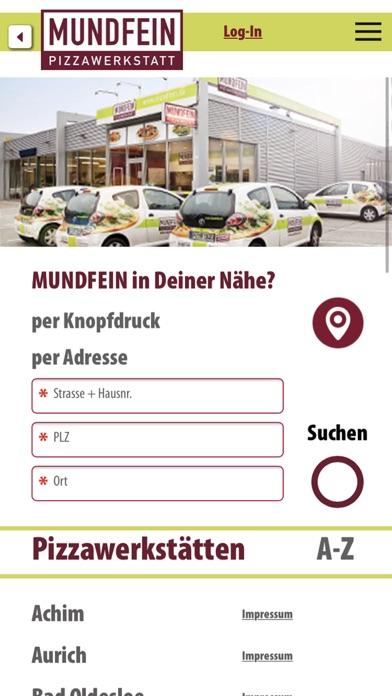 Screenshot for Mundfein in Germany App Store