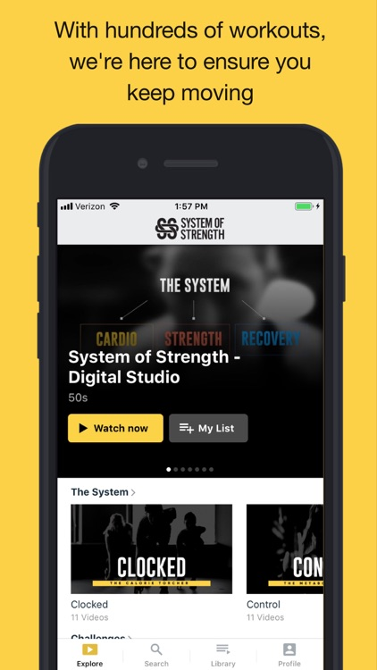 System of Strength Online