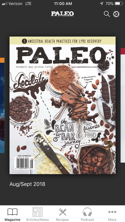 Paleo Magazine screenshot-1