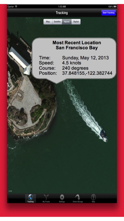 Powerboat GPS Data Logger