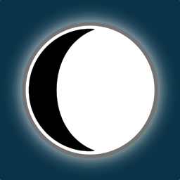 Ícone do app Lunar Phase Widget