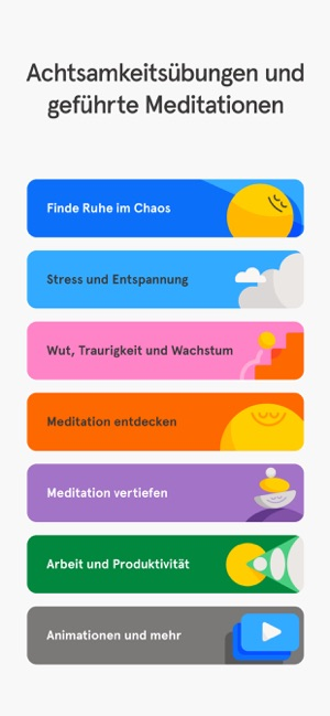 ‎Headspace: Meditation & Schlaf Screenshot