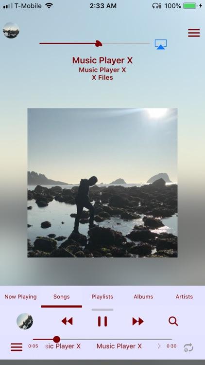 Music Player X - MP3 EQ Bass screenshot-3