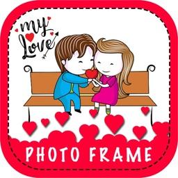 My Love Photo Frame & Sticker