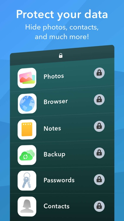Secret Apps Photo Lock