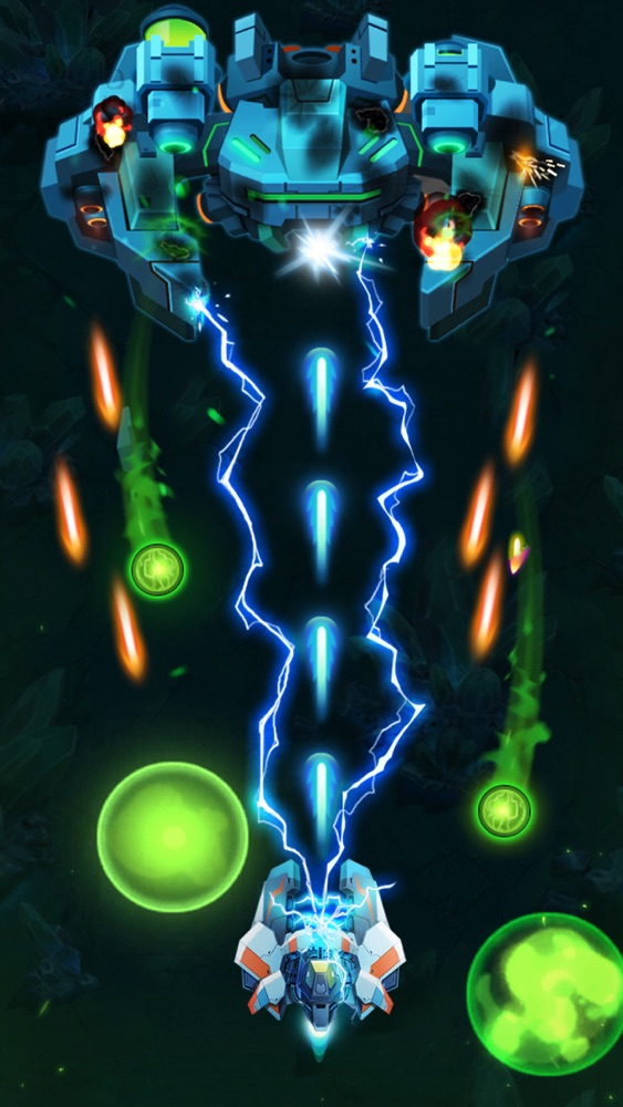 Alien shooter app best ship