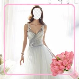 Wedding Dress: Photo Montage