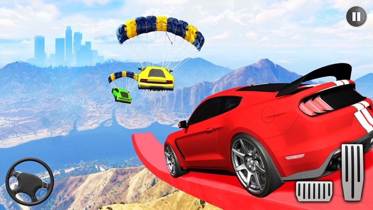 Muscle Car Stunts - Car Games screenshot-3