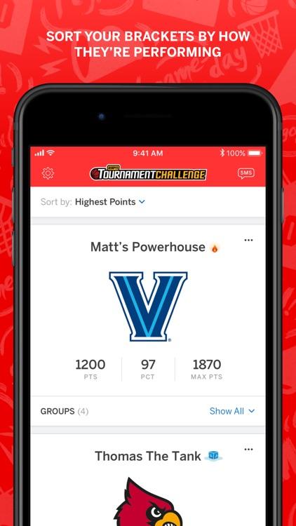 ESPN Tournament Challenge screenshot-4