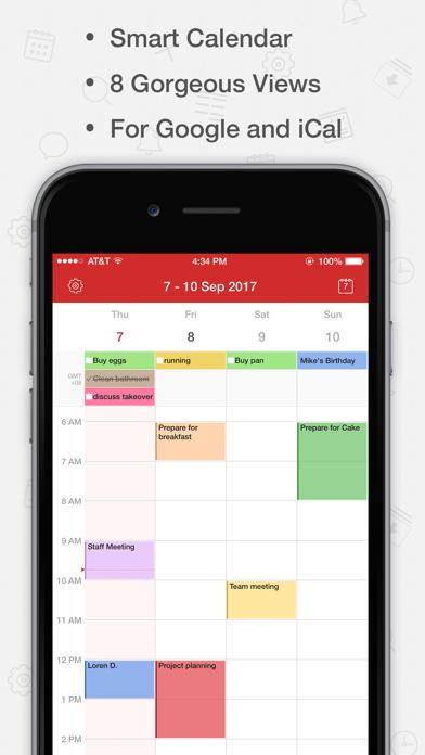 Tiny Calendar Pro review screenshots