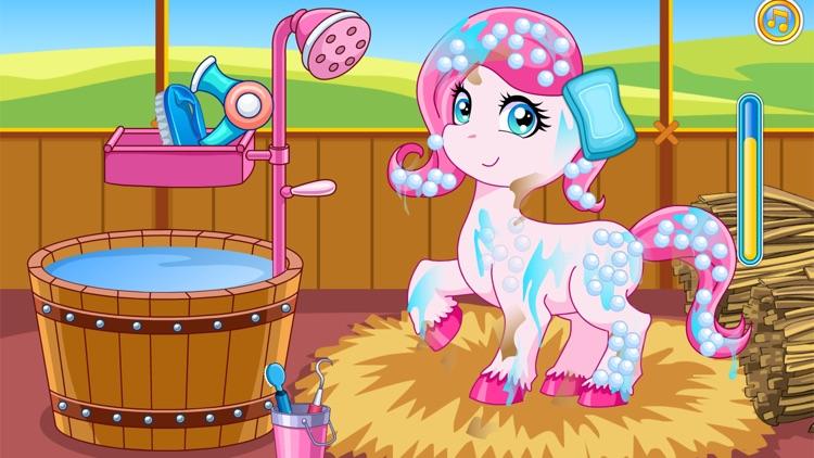 Pony doctor games screenshot-5