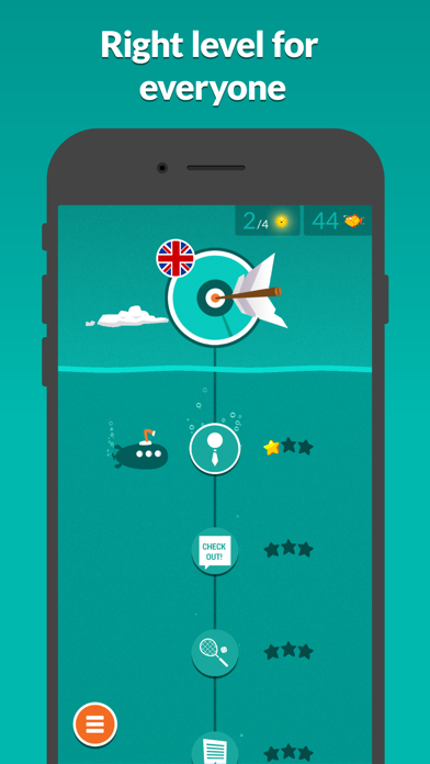 WordDive: Learn languages Screenshot