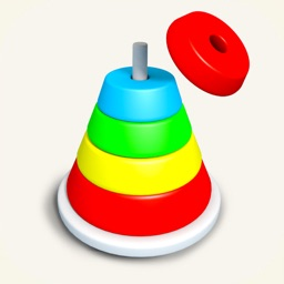 Hoop Stack 3D: Draw Sort Ring