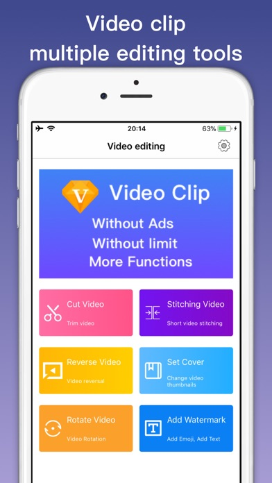 Video Clip Editor - Film maker