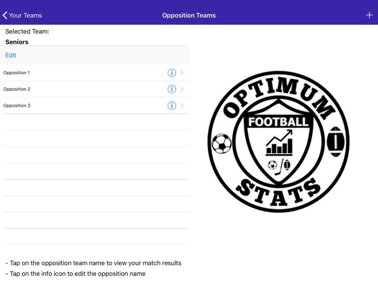 Football Statistics screenshot-3