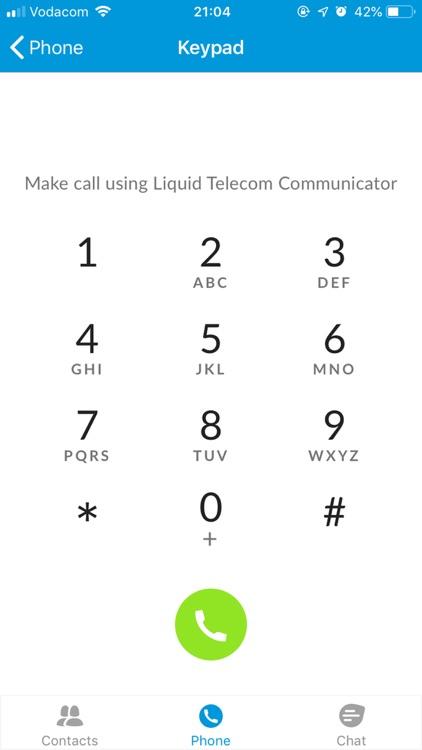 Liquid Telecom Communicator screenshot-5