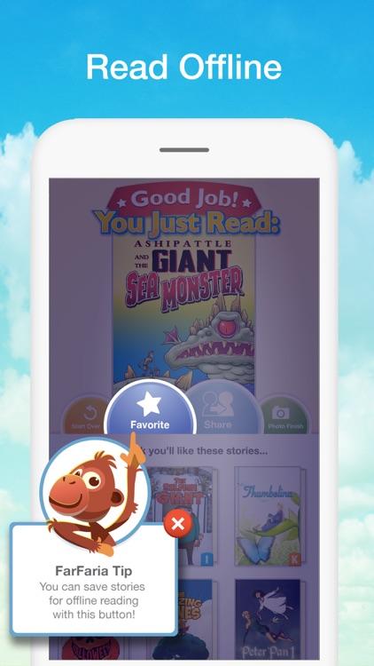 FarFaria Read Along Kids Books screenshot-4