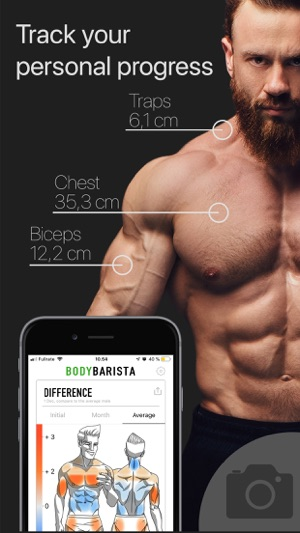 BodyBarista Body Measurements on the App Store
