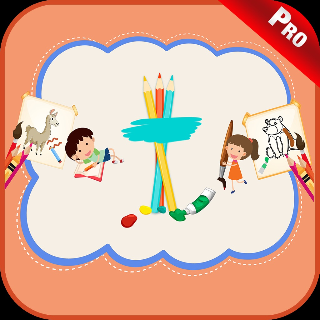 Animal Coloring Pages Kids App hack