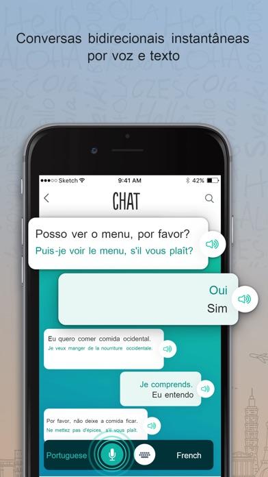 Screenshot for Trocal Francês in Portugal App Store