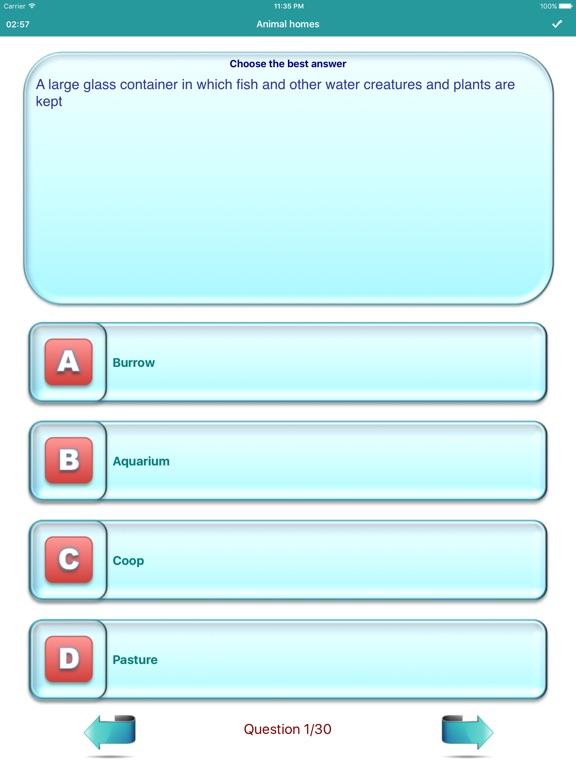English Vocabulary Topics Pro Screenshots