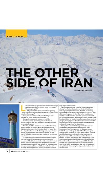 Ski Canada screenshot three