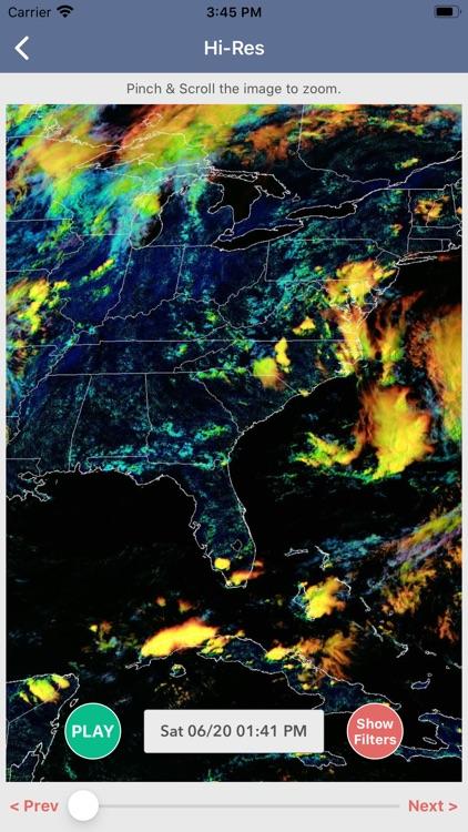 National Weather Forecast Data screenshot-3