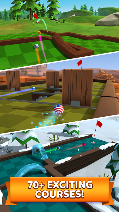Screenshot for Golf Battle in Czech Republic App Store
