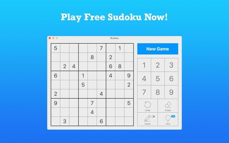 iSudoku - 2000+ levels for Mac
