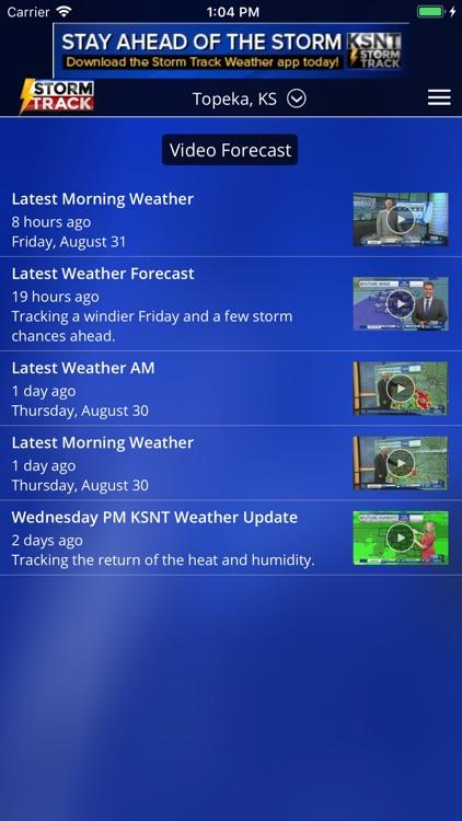 KSNT StormTrack screenshot-4